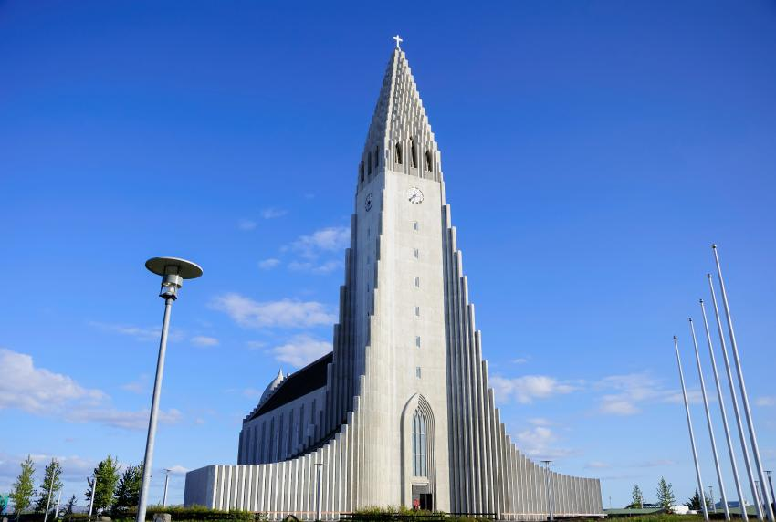 Hallgrímskirkja is the largest church in Iceland.